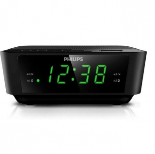 Radio Despertador Philips AJ3116/12 - Negro