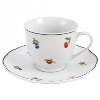 Juego de vajilla de porcelana brunchfield lewes 4pz decorado las mejores ofertas de carrefour - Ofertas vajillas porcelana ...
