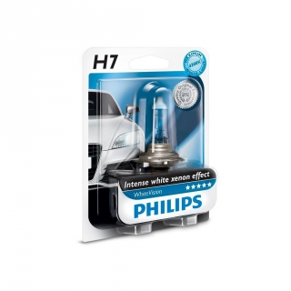 l mpara philips h7 white vision las mejores ofertas de carrefour. Black Bedroom Furniture Sets. Home Design Ideas