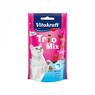 Snack Vitakraft Trio Mix Gatos 60 gr