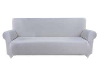 Funda de sof biel stica tex home 3 plazas gris las for Fundas sofa carrefour