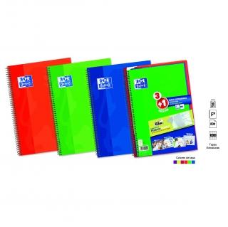 Pack de 4 cuadernos folio de 80 hojas oxford las mejores - Carro playa carrefour ...