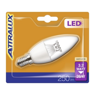 Bombilla LED Vela 25WE14 Attralux