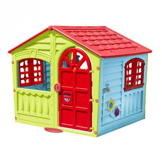 Casita 140x111x115 cm las mejores ofertas de carrefour for Casitas infantiles jardin carrefour