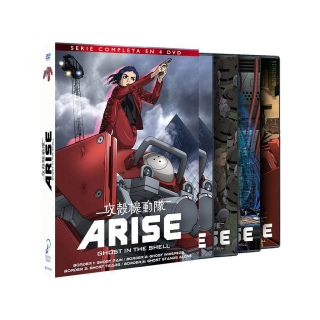 Ghost In The Shell Arise Temporada 1 - DVD