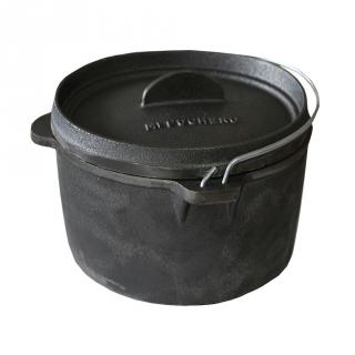 Olla de hierro fundido para barbacoa de 8l las mejores - Barbacoa hierro fundido ...