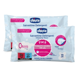 Toallitas Chicco 2x72 Uds