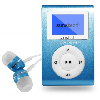 Reproductor MP3 Sunstech Dedalo III 4G