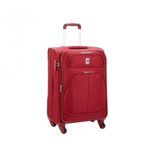 Trolley Extensible (+4 cm) Delsey Pin Up 4 Ruedas 75 cm, Rojo