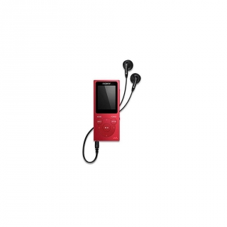 Lector MP4 4GB Sony NWE393R - Rojo