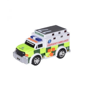 Nomaco - Ambulancia con Luces y Sonidos Rush & Rescue