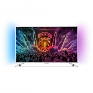 "TV LED 55"" PHILIPS 55PUS6501, 4K Ultra HD, Smart TV, Android, Ambilight, 16GB"