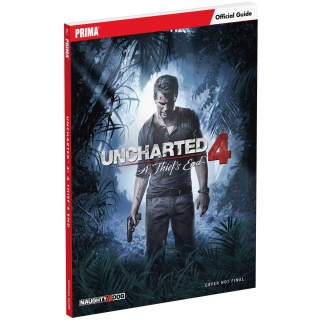 Guía Oficial Uncharted 4: A Thief's End