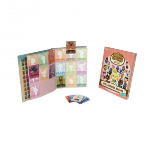 Amiibo Pack 3 Tarjetas Animal Crossing HHD con Álbum  - SERIE 4