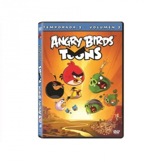 Angry Birds Temporada  2 Vol  2 - DVD