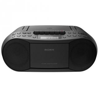 boombox cd cassette sony cfd s70 negro las mejores ofertas de carrefour. Black Bedroom Furniture Sets. Home Design Ideas