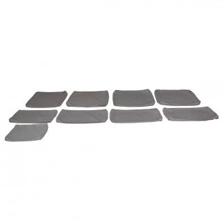 Conjunto rinconera mesa de madera de acacia hanoi for Caseta metalica carrefour