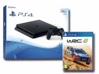 Oferta PS4 SLIM 500GB con WRC 6