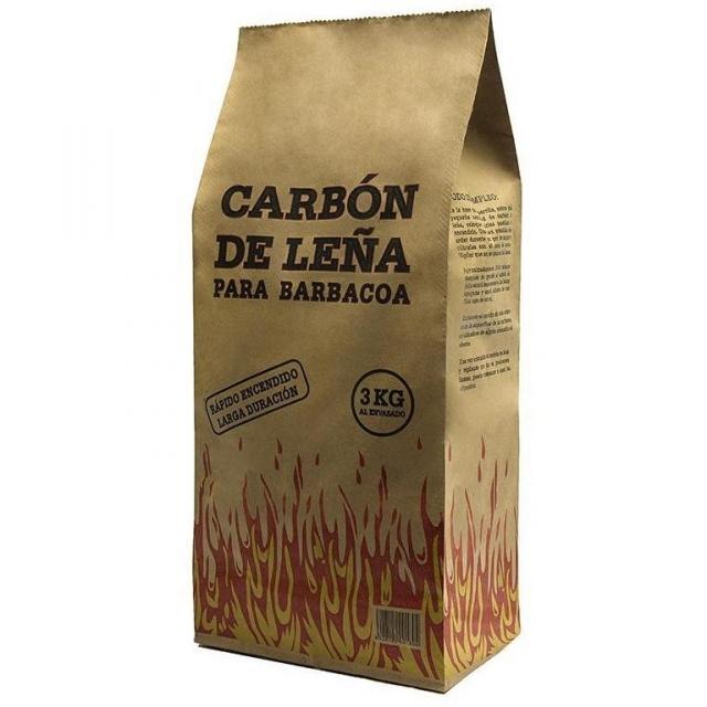 Carbon de leña 3Kg
