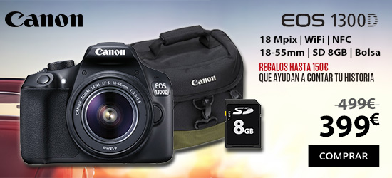 oferta canon eos 1300d