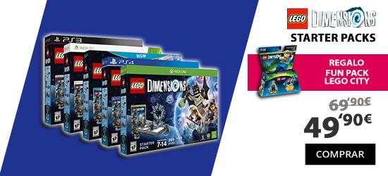oferta lego dimensions starter pack