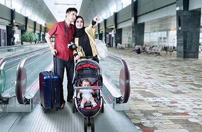 viajar bebé