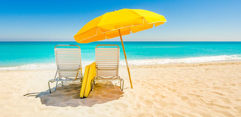 Es una playa de sombrilla cool gals - Sombrilla playa ...