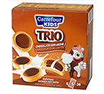 Galletas TRIO de chocolate Carrefour KIDS