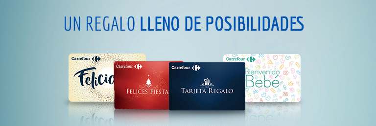 Tarjeta Regalo Carrefour Carrefour Espana