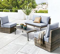 Muebles de jardin baratos con las mejores ofertas en carrefour - Sillones jardin carrefour ...