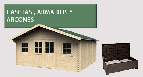 Ofertas para el jard n muebles herramientas piscinas for Casetas carrefour