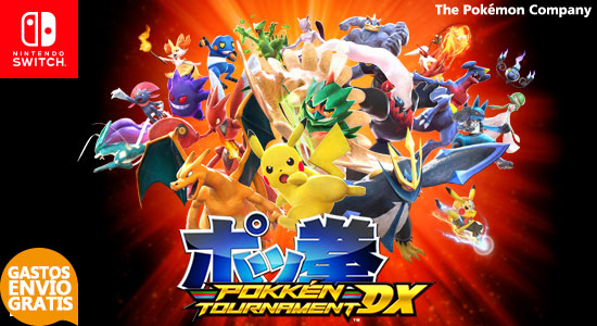 Pokken Tournament DX para Nintendo Switch