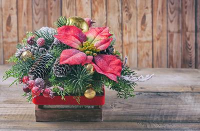 Esta navidad crea tus propios centros de mesa - Centros de mesa de pascua ...