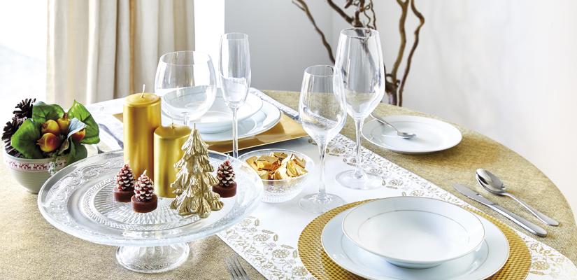 C mo combinar vajilla y manteler a en la mesa de navidad - La mesa en navidad ...
