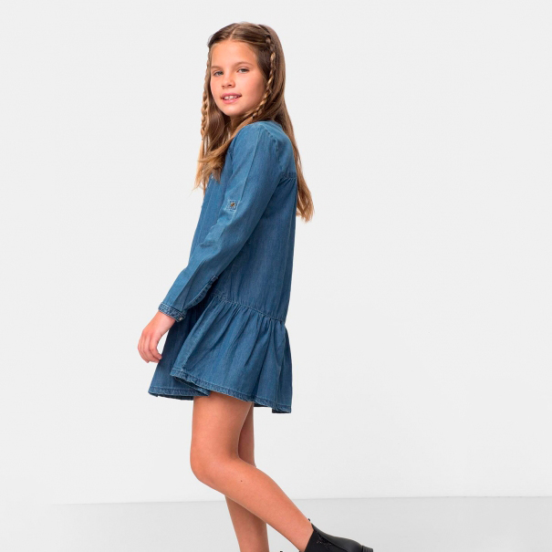 moda sostenible niña