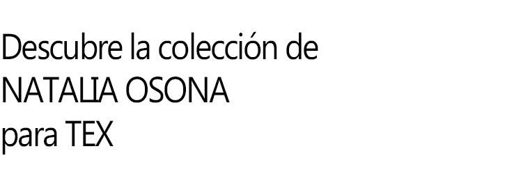 Natalia Osona para TEX