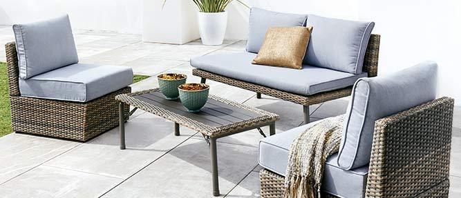 Ofertas para el Jardín: Muebles,Herramientas,Piscinas,Mesas de jardín…