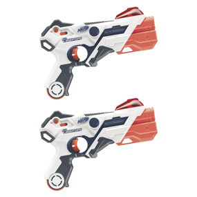 Hasbro - Nerf Pack 2 Lanzadores Laser Ops Pro Alphapoint
