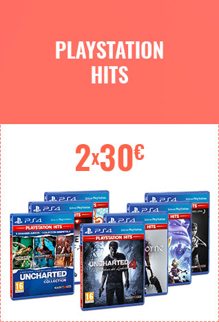 JUEGOS PLAYSTATION HITS 2X30 €