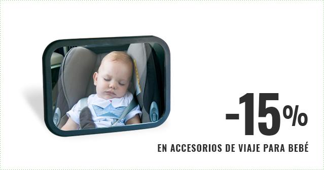 15% En accesorios de viaje para bebé