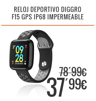 Reloj Deportivo Diggro F15 Gps Ip68 Impermeable