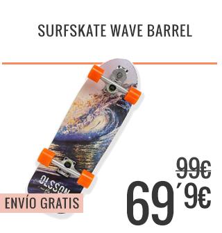 Surfskate Wave Barrel