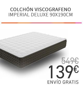 COLCHON VISCOGRAFENO IMPERIAL DELUXE