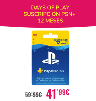DAYS OF PLAY 12 MESES