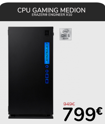 CPU GAMING MEDION ERAZER® Engineer X10
