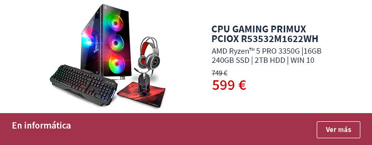 CPU Gaming Primux PCIOX R53532M1622WH