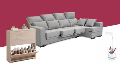 Hasta -60% En muebles, sofás, lámparas y decoración