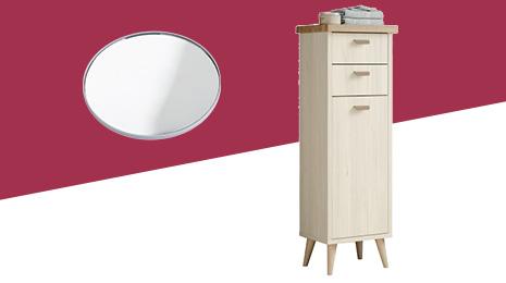 Hasta -70% En estos muebles, espejos y accesorios de baño