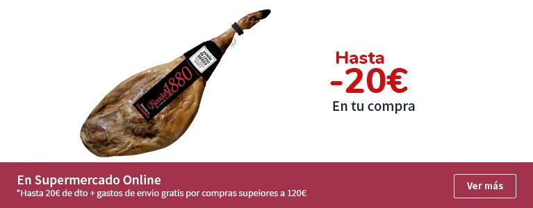Hasta 20€ dto. en tu compra