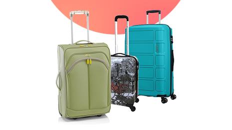 En todos estas maletas  y trolleys